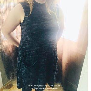 (Macy's) turtle neck sleeveless dress